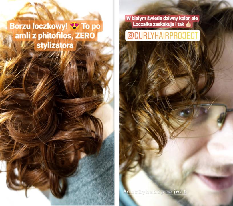jak podbić skręt włosów