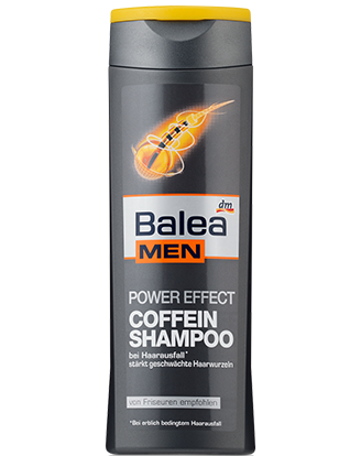 Balea MEN Power Effect Coffein Shampoo