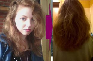naturalnie rude włosy