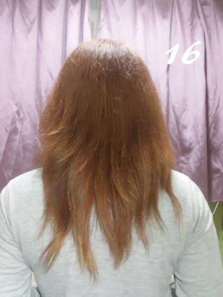 Henna na spalone włosy