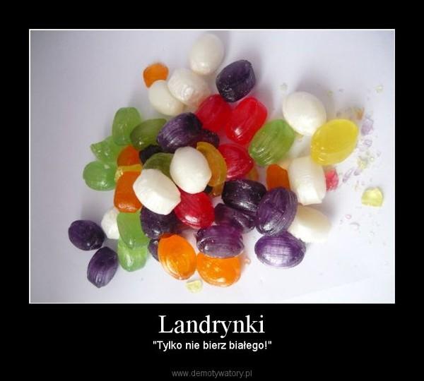białe landrynki smak