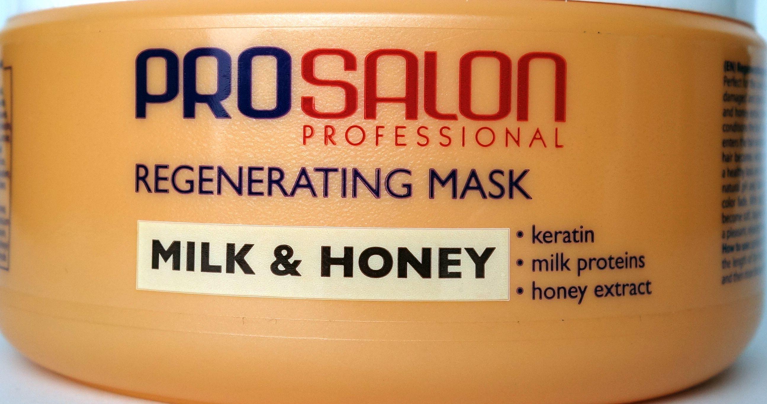 prosalon mleko miód