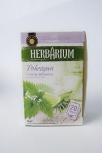 herbarium pokrzywa trawa cytrynowa