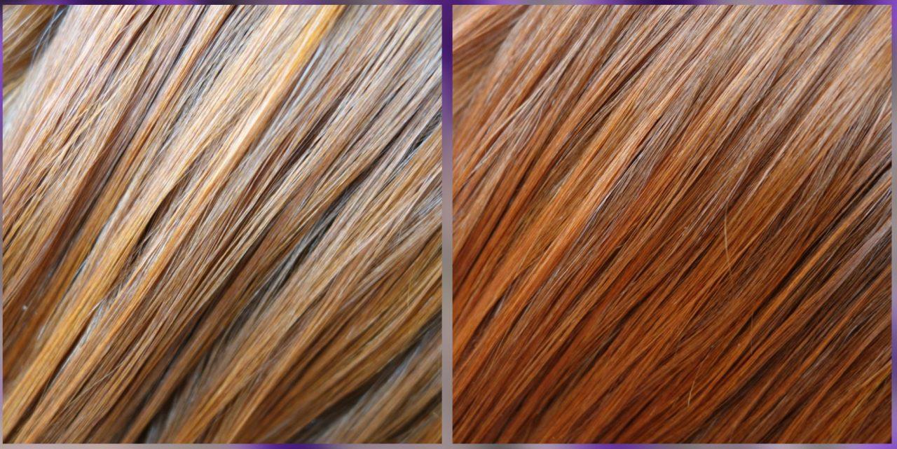 naolejowane włosy
