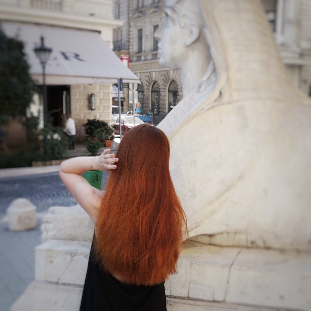 rude włosy henna eld