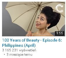 100 Years of beauty filipiny
