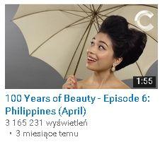 100 Years of beauty filipiny