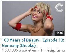 100 lat fryzur niemcy
