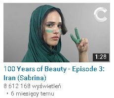100 Years of beauty iran