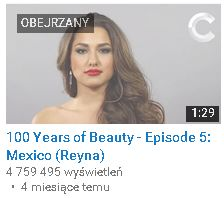 100 Years of beauty meksyk
