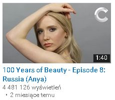 100 Years of beauty rosja