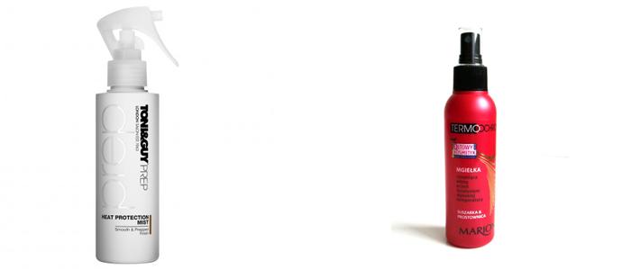 mgiełki termoochronne bez alkoholu