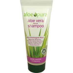 Aloe Pura Herbal Shampoo (Dry/Damaged Hair)