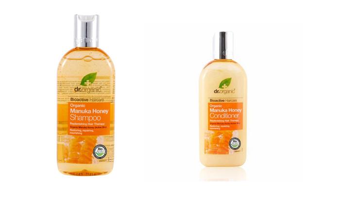 Dr Organic Manuka Honey szampon skład