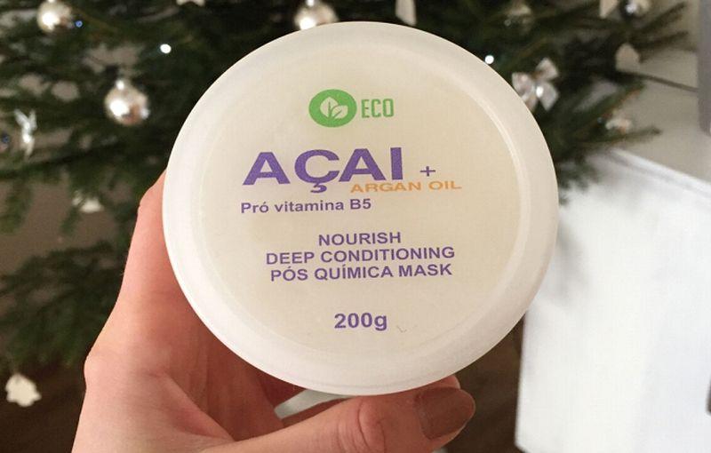 Encanto Do Brasil Acai Argan Oil Mask