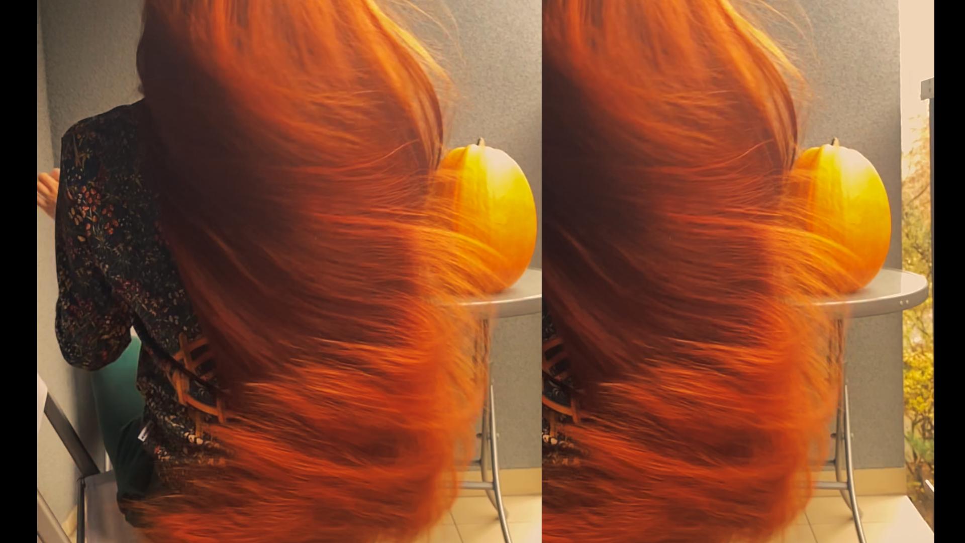 dyniowa maska do włosów diy