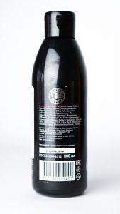 czarny szampon z szungitem