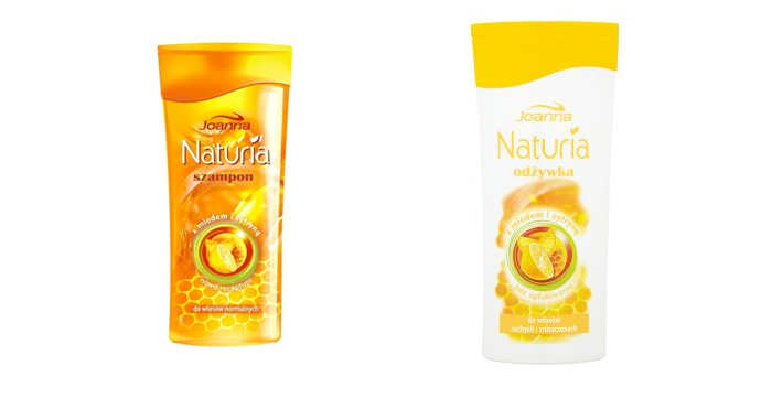 Joanna Naturia Miód i cytryna szampon skład