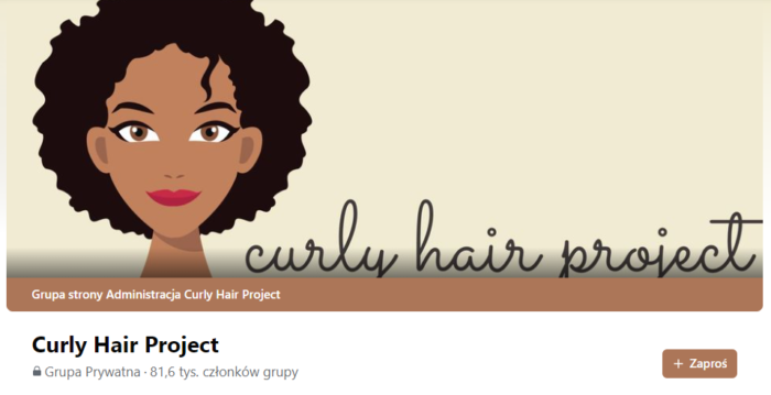 grupa curly hair project