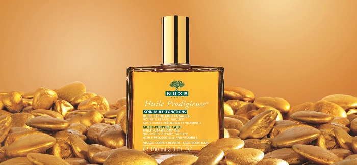 Nuxe Huile Prodigieuse®- Wielofunkcyjny suchy olejek twarz, ciało i włosy