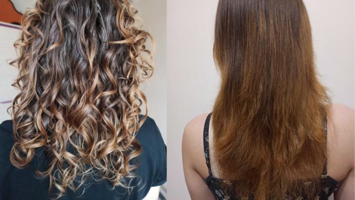 jak wygładzić skręt włosów