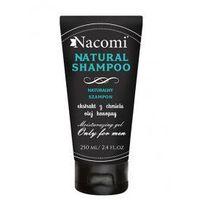 Nacomi Szampon do włosów dla mężczyzn z olejem konopnym i chmielem