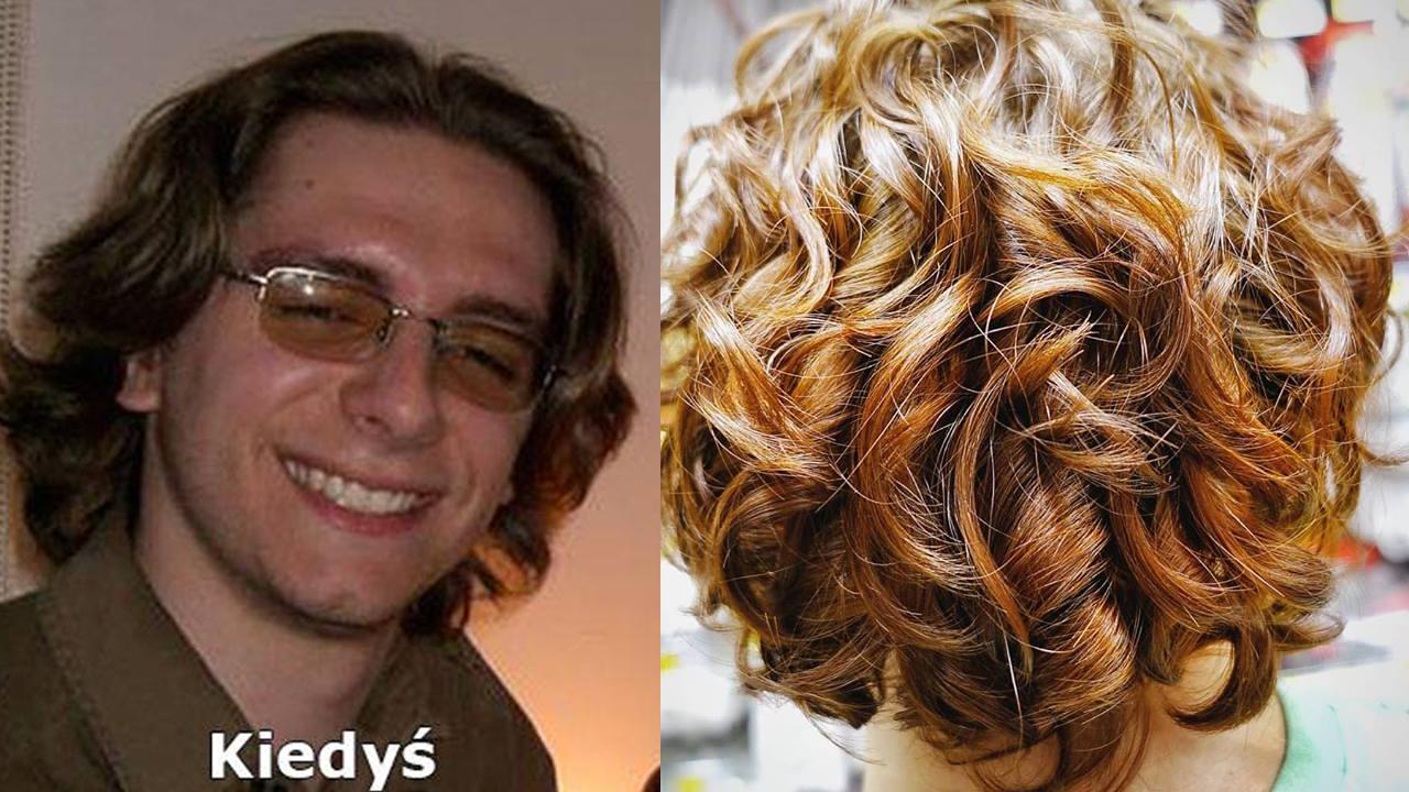 męska pielęgnacja włosów