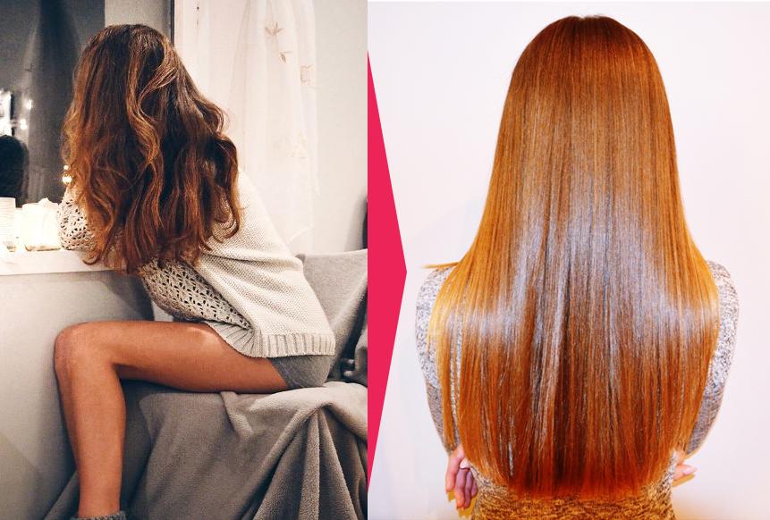 keratynowe prostowanie włosów efekty