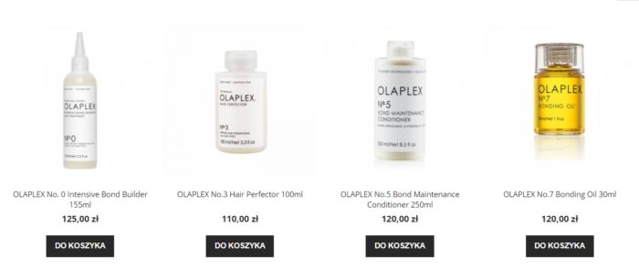 olaplex w napieknewlosy.pl
