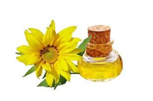 olej słonecznikowy włosy
