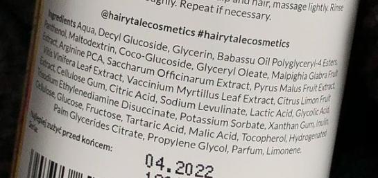 szampon do włosów
