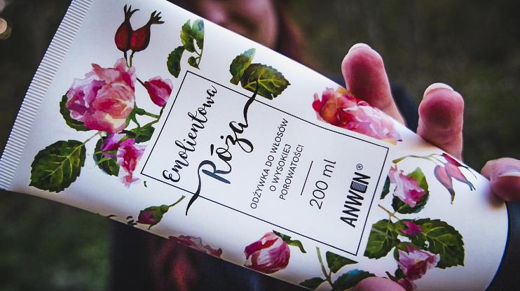odżywka anwen emolientowa róża